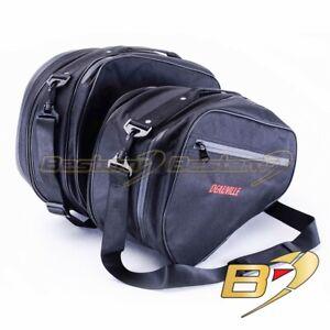 Honda NT700 NT700V Deauville Saddlebag Side Case Trunk Liner Liners Bags Black