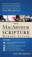 The MacArthur Scripture Memory System by John MacArthur (2004) CD