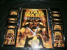 Merlin's STAR WARS - REVENGE OF THE SITH : EMPTY ALBUM + 100 STICKER PACKS !!!