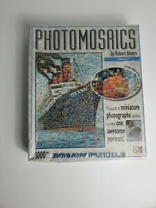TITANIC Photomosaic by Robert Silvers 1000 pc Puzzle Buffalo Games Sealed Box