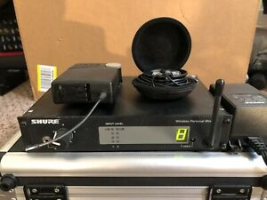 Shure PSM 400 P4R P4T IEM set receiver transmitter HF 722-746 MHz in ear monitor