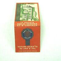 Vintage Matchbook FULL American Legion Voiture Locale #51 Buffalo New York RARE