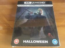 HALLOWEEN 2D/4K Exclusive Limited Edition Blu-Ray Steelbook *BRAND NEW & SEALED*