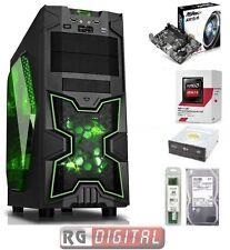 COMPUTER DESKTOP PC ASSEMBLATO GAMING AMD QUAD CORE X4 RAM 8GB HD 1TB  iTeK 3.0