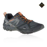 Merrell Mens MQM Flex GORE-TEX Trail Running Shoes Trainers Sneakers Black Grey