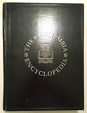 The Columbia Encyclopedia One Volume (1938 Black Faux Leather) - Clarke Ansley