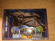 Force Attax Star Wars Rebels Glitzerkarte Nr.161 Die Ghost Sammelkarte