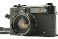 [Exc+5] Yashica Electro 35 GT Late Model BLACK 35mm Rangefinder  from Japan A059