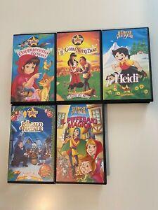 5 Videocassette e VHS Stardust  ORIGINALI!