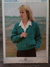 """Littlewoods Knitting Pattern: Ladies Cardigan, DK, 30-44"""", 5511"""