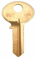 Kaba Ilco B01-BR Blank Key, Gold (50 Pack)