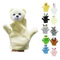 New Baby Child Cute Zoo Farm Animal Hand Sock Glove Puppet Finger Sack Plush Toy