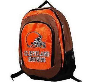 NFL Cleveland Browns backpack Large School bag knapsack Licensed new