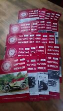 The Driving Member Daimler & Lanchester Club Magazine 23x issues Vol 19-21 1980s