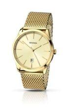 Relojes de pulsera de acero inoxidable dorado de acero inoxidable dorado para hombre