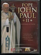 Biography - POPE JOHN PAUL II: STATESMAN OF FAITH [New DVD] A&E Documentary