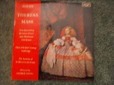 ARGO ZRG 5500 Haydn Theresa Mass St Johns Choir, Spoorenberg, Krause, Guest LP