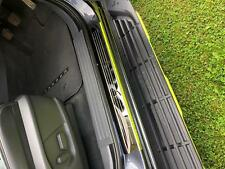 Ford Ranger 2016 ON Double Cab STX Protective Door Sill Covers - Stainless Steel