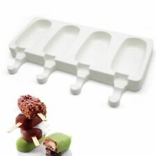 Ice Cream Popsicle Mold Silicone Freezer Candy Bar Making Tool Kitchen Accessory