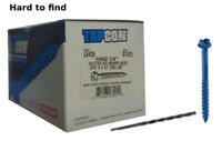 "Pro Twist Concrete Screw Anchor Hex Washer Head 3//16 x 2-1//4/"" 100pc #HC32141C"