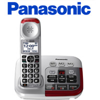 Panasonic KX-TGM450S Amplified hearing impaired cordless Phone w/ answering