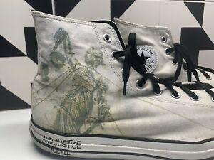 Metallica  ...And Justice For All Converse All Star Chuck Taylor Men's 12