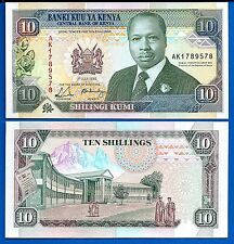 Kenya P-24e Ten Shillings Year 1993 Uncirculated FREE SHIPPING