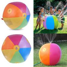 Inflatable Water Spray Ball Sprinkler children Toys Lawn Beach Outdoor Summer UK