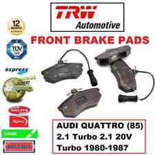 Rear Brake Pads Audi Quattro 2.1 Turbo Coupe 85 80-91 Petrol 200HP 87x66.8mm