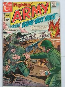 Fightin' Army #94 Nov. 1970 Charlton Comics