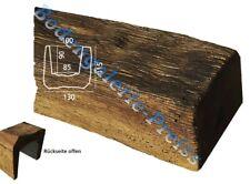 2 Meter Deckenbalken 130x115mm - Dekorbalken PU-Balken - Holzimitat Eiche dunkel
