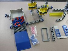 Lot of 170+ Rokenbok Building Pieces 2 Trucks Controllers FREE SHIPPING Backroom