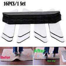 16Pcs Rug Gripper Pads Anti Curling Non Slip Carpet Anchors Super Sticky Holders