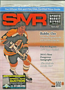 SPORTS MARKET REPORT, PSA PRICE GUIDE,  March, 2015 - Bobby Orr