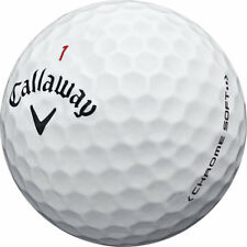 50 Callaway Chrome Soft Mint Used Golf Balls AAAAA
