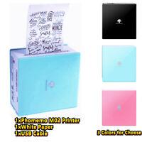 Mini Pocket Printer Mobile Sticker Label Maker Bluetooth Wireless Android&IOS