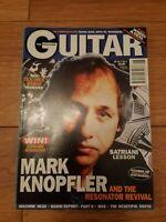 GUITAR MAGAZINE VOL. 7 NO.6 (APRIL 1997) MARK KNOPFLER MACHINE HEAD INXS
