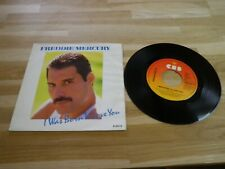 "FREDDIE MERCURY - Vinyle 45T - 7"" !!! I WAS BORN TO LOVE YOU !!!"