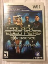 The Black Eyed Peas Experience Game Limited Edition Nintendo Wii NEW Sealed