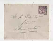 Launceston [D] Squared Circle Postmark 14 Dec 1886 QV Cover 610b
