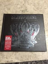 SCORPIONS - RETURN TO FOREVER 50TH ANNIVERSARY COLL. BOX LIMITED EDT AS NEW!
