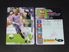 JEREMY MATHIEU TOULOUSE FC Téfécé TFC STADIUM PANINI FOOTBALL CARD 2006-2007