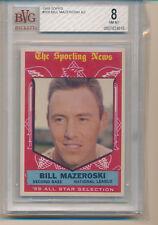1959 Topps Bill Mazeroski (HOF) (All-Star Card) (High Number Series) (#555) BVG8