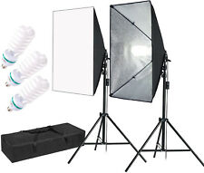 MountainDog 1350W Professional Photography Softbox with 3pcs E27 5500K Bulbs