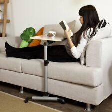 SoBuy Height Adjustable Nursing Overbed Table,Laptop Sofa Side Table,FBT07N-W,UK