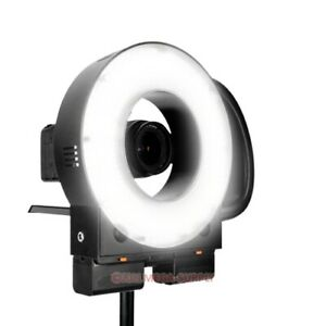 LED Ring Light Studio Video Lighting 5600K 10-100% Dimmer For Camcorder DSLR