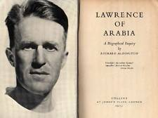 ALDINGTON Richard, Lawrence of Arabia. A biographical Enquiry. Collins 1955