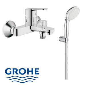 Grohe Einhandmischer Wanne & Brausegarnitur Armatur Set Badewanne 27799+23334