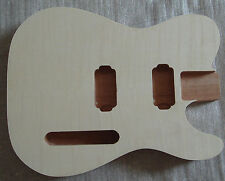 Guitar body top grade unfinished electric guitar parts perfect handcraft