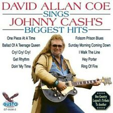 Sings Johnny Cash's Biggest Hits - David Allan Coe (2003, CD NIEUW)